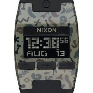 Nixon Comp Khaki Camo Sports Watch