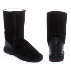 InStep Full Suede Long Sheepskin Boots