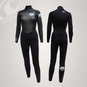 Reef Fusion Ladies 5 4 3 Back Zip