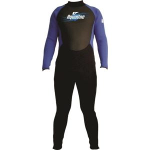Aqualine Mens 3 mm Back Zip Wetsuit