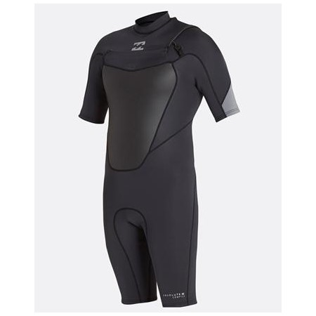 Billabong Mens Springsuit ABS Comp Chest Zip