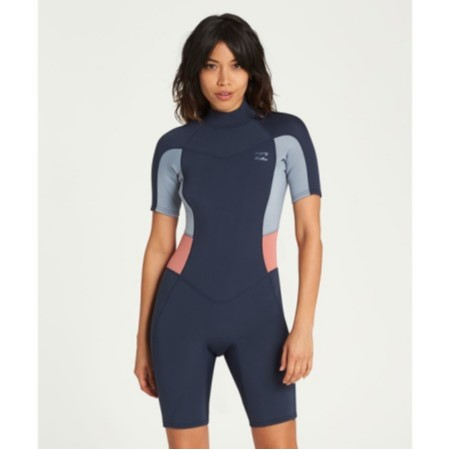 bc441a8003 billabong womens synergy 2mm back zip suit lowest price d3bcc 16d0f ...