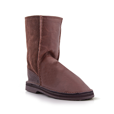 InStep Leather Front Sheepskin Boots