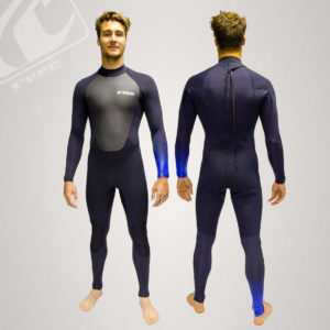 Reef Mens 4/3 Flex Pro Back Zip