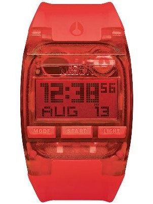 Nixon Comp All Red Sports Watch