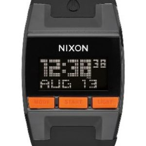 Nixon Comp Black Orange Sports Watch