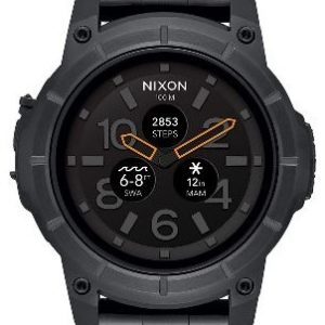 Nixon Mission Stainless Steel Black Sports Watch
