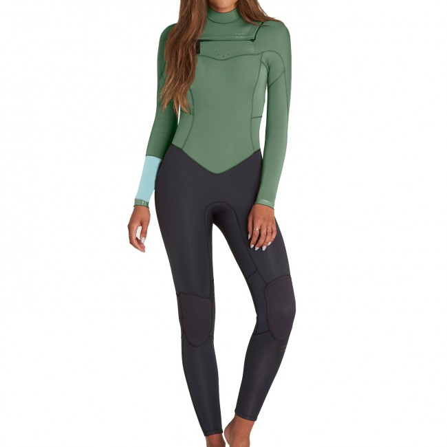 f7468e93ad Billabong Ladies 3/2 Synergy Chest Zip