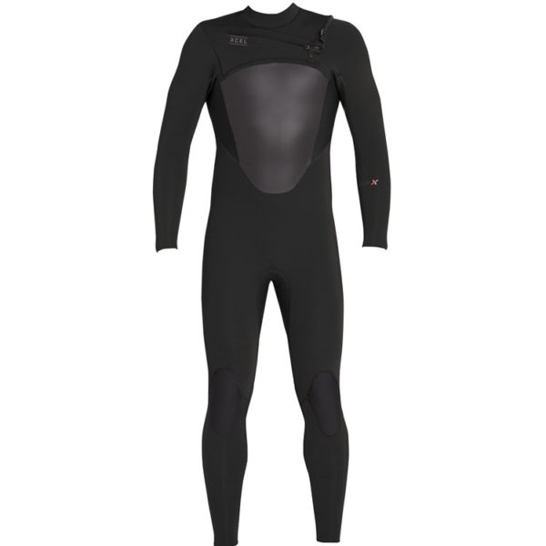 Xcel Mens 4/3 Axis Chest Zip Wetsuit