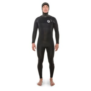 Isurus Shield 3/3 Zipfree Hooded Wetsuit