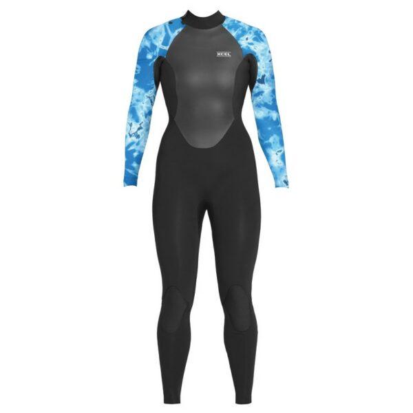 Xcel Axis X Ladies 4 3 Back Zip Wetsuit