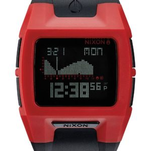 NIXON LODOWN II RED BLACK