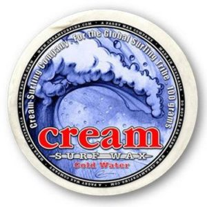 Cream Surfboard Wax