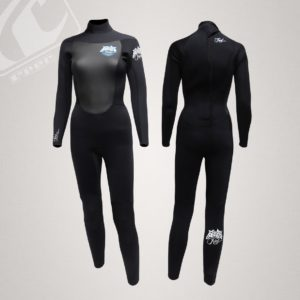 Reef Ladies 5/4 Fusion Back Zip