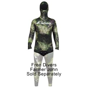 FREE DIVERS MENS 5mm JACKET